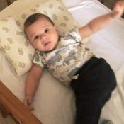 Gusttavo Lima brinca com o filho e menino esbanja fofura: 'Saudades do papai?'