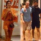 Sem se encontrarem, Grazi Massafera e Cauã Reymond visitam mesmo shopping. Fotos