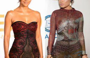 Halle Berry e Andra Day ousam com vestidos transparentes em premiação. Looks!