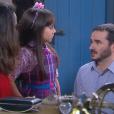 Frida (Sienna Belle) recebe o apoio da Madre ao saber que os pais irão se separar, no capítulo que vai ao ar quarta-feira, dia 24 de janeiro de 2018, na novela 'Carinha de Anjo'