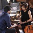 Vitor (Thiago Mendonça) questiona Paula (Carolina Manica) sobre ser pai de Cassandra, mas ela nega e vai embora de sua casa, no capítulo que vai ao ar quinta-feira, dia 25 de janeiro de 2018, na novela 'Carinha de Anjo'