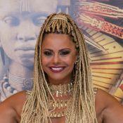 Viviane Araujo se diz solteira após rumor de affair: 'Não estou namorando!'