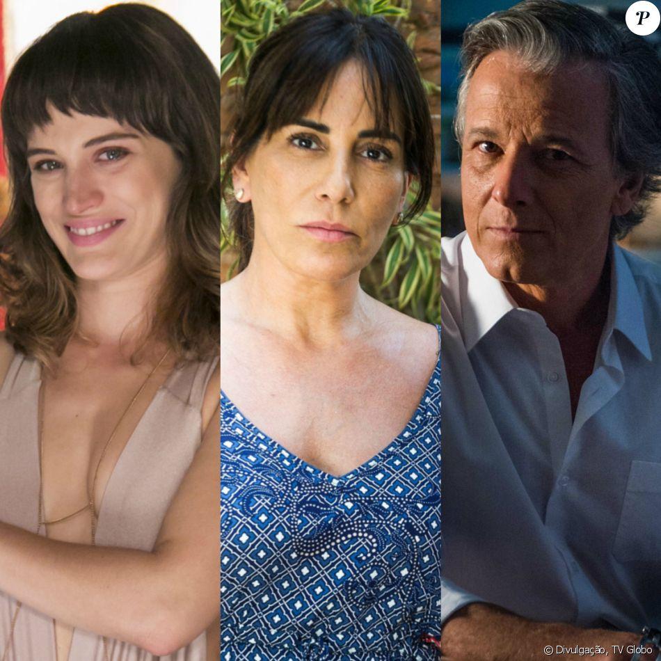Clara (Bianca Bin) apoia Duda/Bete (Gloria Pires) a aceitar encontro com Renan (Marcello Novaes), na novela 'O Outro Lado do Paraíso'