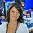 Geovanna Tominaga, do 'Dancing Brasil', lembrou quando Susana Vieira tirou microfone de sua mão em entrada ao vivo no 'Vídeo Show' em 2009