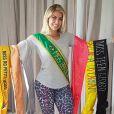 Jaqueline tem vários títulos de Miss e já conheceu Neymar ao visitar a casa do craque