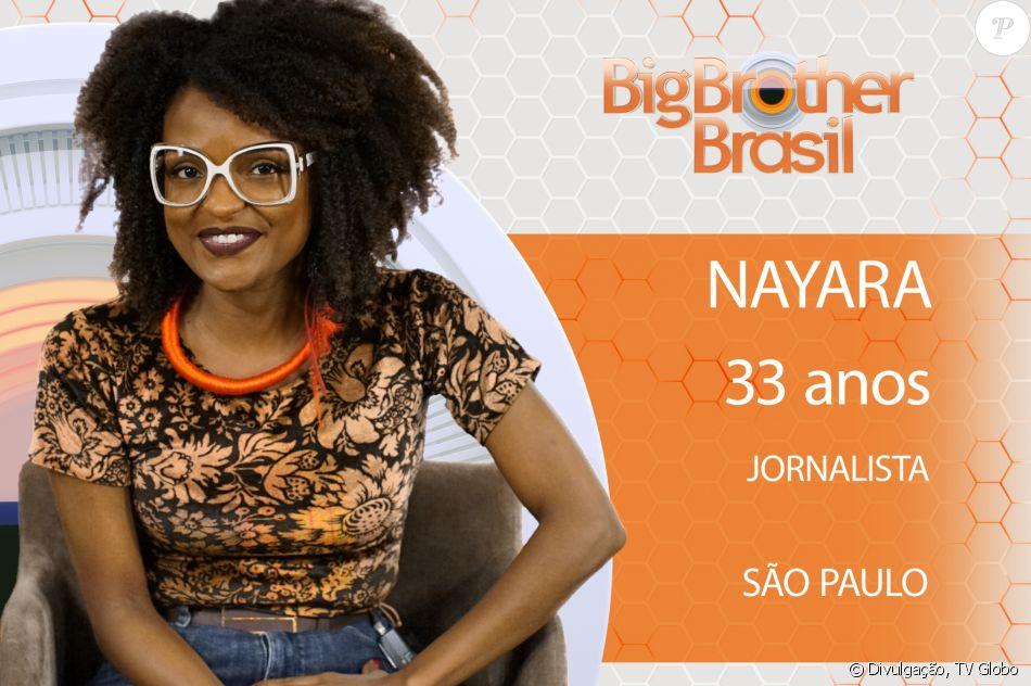 Nayara, 12ª participante do 'BBB18', é jornalista e tem algumas manias, como não repetir roupa ao longo do ano