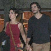 Fátima Bernardes e namorado, Túlio Gâdelha, posam juntos em viagem: 'Em frente'