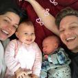 Thais Fersoza e Michel Teló são pais de Teodoro e Melinda, de 5 meses e 1 ano, respectivamente
