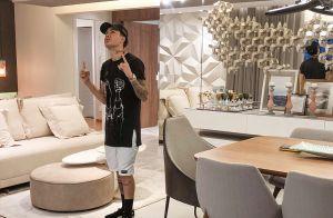 Kevinho exibe vídeo de sua 1ª mansão de luxo e garante: 'Não estou ostentando'