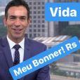 'Orgulho define! Meu Bonner', comemorou Ticiane Pinheiro