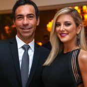 Cesar Tralli entra em rodízio do 'JN' e Ticiane Pinheiro celebra: 'Meu Bonner'