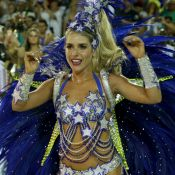 Destaque em escola do Rio, Monique Alfradique torce o pé às vésperas do Carnaval