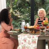 Erika Januza se assusta com pergunta de Ana Maria Braga: 'Estão namorando?'
