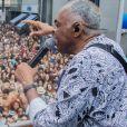 Gilberto Gil foi a atração principal do esquenta do Camarote Bar Brahma
