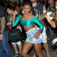 Erika Januza adianta que sua fantasia não será comportada para desfilar na Marquês de Sapucaí