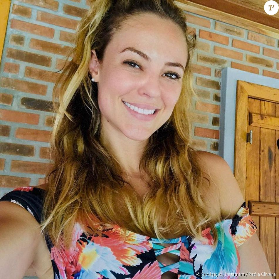 Excepcional Beleza natural de Paolla Oliveira foi exaltada por fãs: 'Essa, sim  ET41
