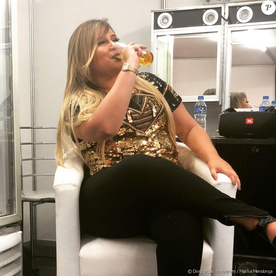 Marília Mendonça responde comentário de fã e diverte seguidores, em 28 de janeiro de 2018