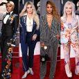 Janelle Monáe, Kesha, Eve e Cyndi Lauper apostaram em conjuntos para o Grammy Awards 2018. Veja mais look!
