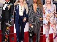 Looks com conjunto chamam atenção no tapete vermelho do Grammy 2018. Fotos!