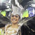 Paloma Bernardi foi rainha de bateria da Grande Rio no carnaval 2017