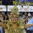 Paloma Bernardi também foi rainha de bateria da Grande Rio no carnaval 2016