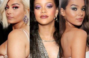 Make colorida é tendência entre as famosas no Grammy Awards 2018. Saiba mais!