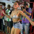 Rainha de bateria da Grande Rio, Juliana Paes marca presença no ensaio da escola de samba em Duque de Caxias, Baixada Fluminense do Rio de Janeiro, na noite desta terça-feira, 30 de janeiro de 2017