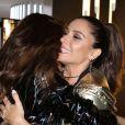 Juliana Paes e Giovanna Antonelli foram convidadas de evento de moda, em São Paulo