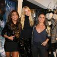 Juliana Paes e Giovanna Antonelli se encontraram com Carol Trentini