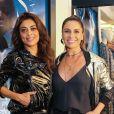 Juliana Paes e Giovanna Antonelli prestigiaram evento de moda da Le Lis Blanc