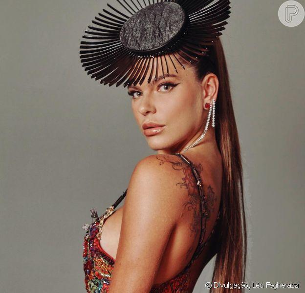 Mariana Goldfarb marcou presença no Baile da Vogue, em São Paulo, na quinta-feira, 1º de fevereiro de 2017