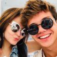 Larissa Manoela e Leo Cidade recentemente comemoraram um mês de namoro