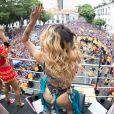 Pabllo Vittar agitou a multidão no Bloco da Preta, no Centro do Rio de Janeiro, na manhã deste domingo, 4 de fevereiro de 2018