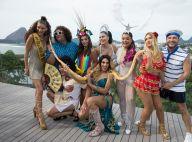 Cores e adereços: confira os looks de Carnaval das famosas no Bloco da Preta!