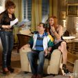 Gláucia Beatriz (Renata Sorrah) fica decepcionada quando o vê que o resultado do teste de DNA comprova que Danilo (Miguel Roncato) é filho de Silvio (Luis Henrique Nogueira)