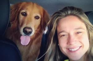 Fernanda Gentil, longe de casa por causa da Copa, sente saudades de sua cadela
