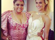 Carolina Dieckmann se veste de She-Ra para ser musa de bloco de Preta Gil no Rio