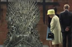 Rainha Elizabeth II visita estúdio do 'Game of Thrones' na Irlanda do Norte