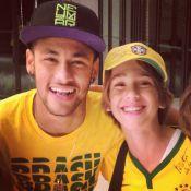 Susana Werner, mulher de Julio Cesar, posta foto do filho ao lado de Neymar
