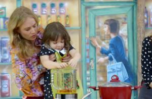 Angélica brinca sobre dotes culinários: 'Demorei 37 anos para quebrar um ovo'