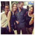 Cauã Reymond apareceu pela primeira vez em foto ao lado de Camila Espinosa, sua suposta affair; imagem foi publicada pelo colunista Leo Dias, do jornal 'O Dia'