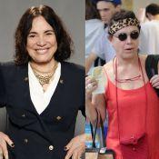 Regina Duarte comenta estilo com combinações inusitadas: 'Acho engraçado'