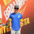 Thiago Martins vai ao Brahma Deck antes de jogo entre França e Alemanha no Maracanã, no Rio de Janeiro