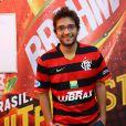Humberto Carrão vai ao Maracanã assistir jogo entre Alemanha x França