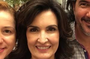 Fátima Bernardes muda visual e aposta em corte nos cabelos: 'Adorei'