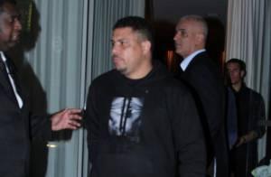 Ronaldo e Paula Morais curtem festa juntos após reatarem noivado