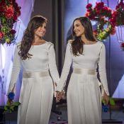 13bb9813ac224 Vestidos de Clara e Marina foram iguais para não gerar disputa   Sem ...