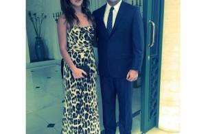 Ronaldo e Paula Morais posam com afilhada após crise no relacionamento