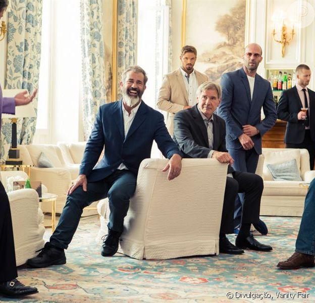 Elenco de 'Os Mercenários 3' vem ao Brasil para divulgar filme, em agosto