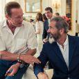 Mel Gibson e Arnold Schwarzenegger estão no elenco de 'Os Mercenários 3'